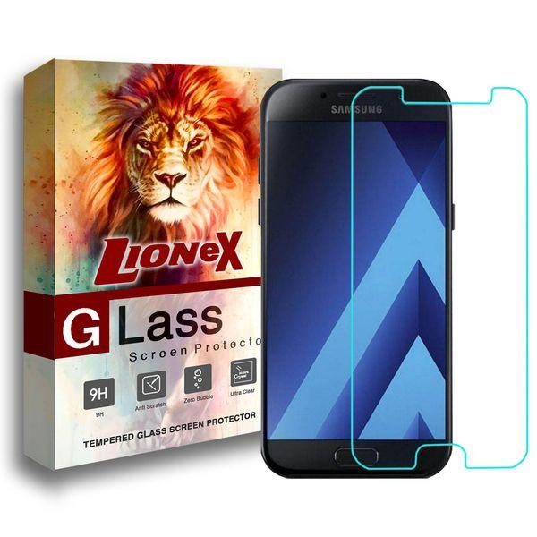 محافظ صفحه نمایش لایونکس مدل Ultra Powerful Shield مناسب برای گوشی موبایل سامسونگ Galaxy A5 2017