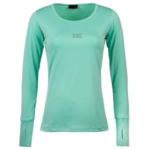 تی شرت آستین بلند ورزشی زنانه اچ کی مدل 014 - 2755