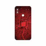 برچسب پوششی ماهوت مدل Red Printed Circuit Board مناسب برای گوشی موبایل شیائومی Redmi Note 6 Pro
