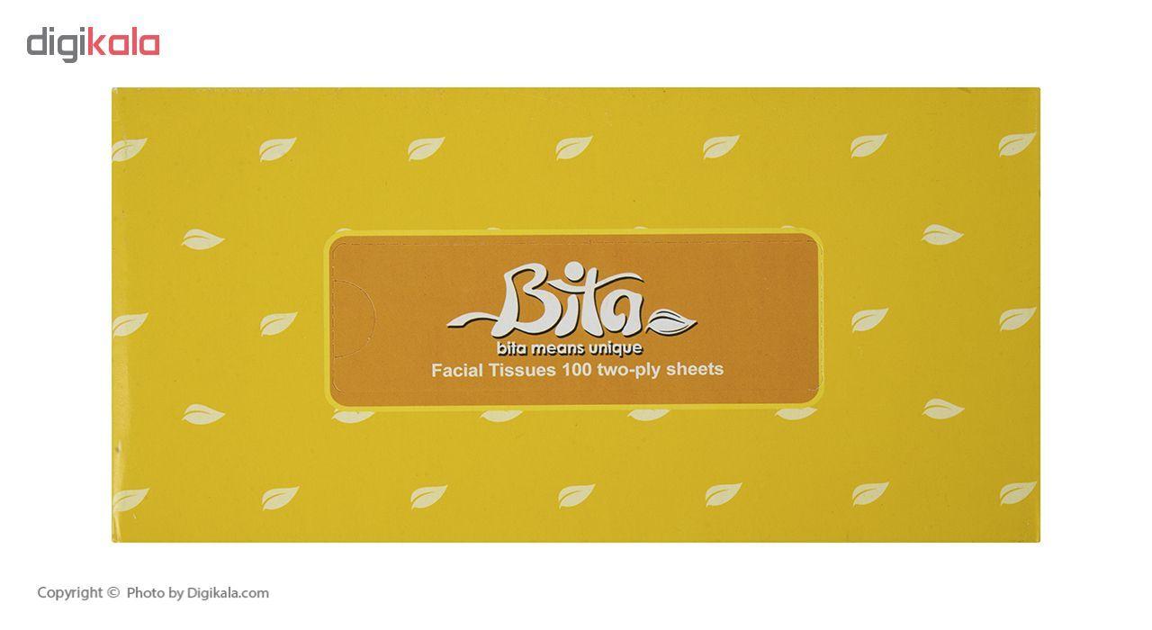 دستمال کاغذی 100 برگ بی تا بسته 4 عددی main 1 5