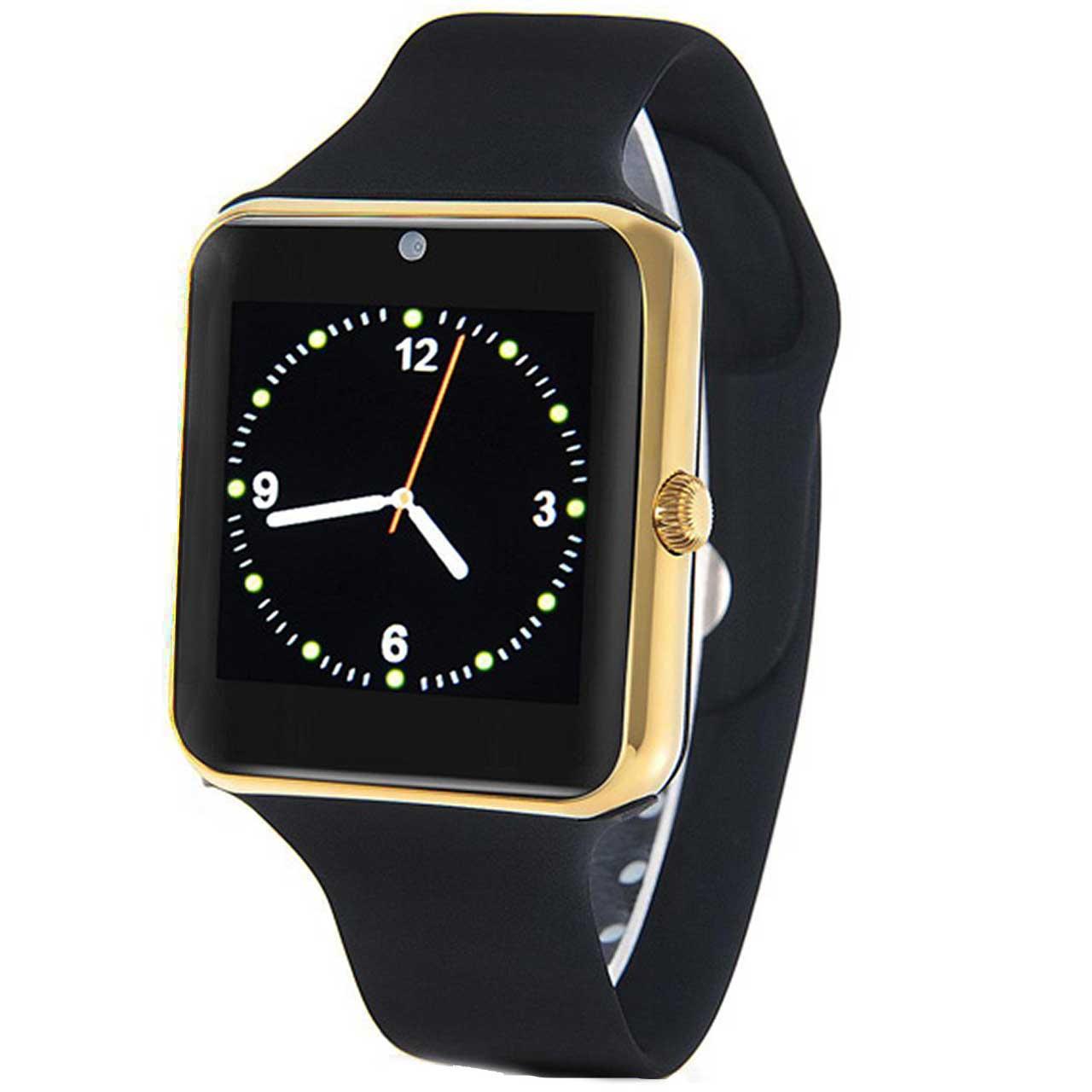 بررسی و {خرید با تخفیف}                                     ساعت هوشمند مدل Q7sp همراه محافظ صفحه نمایش شیدتگ                             اصل