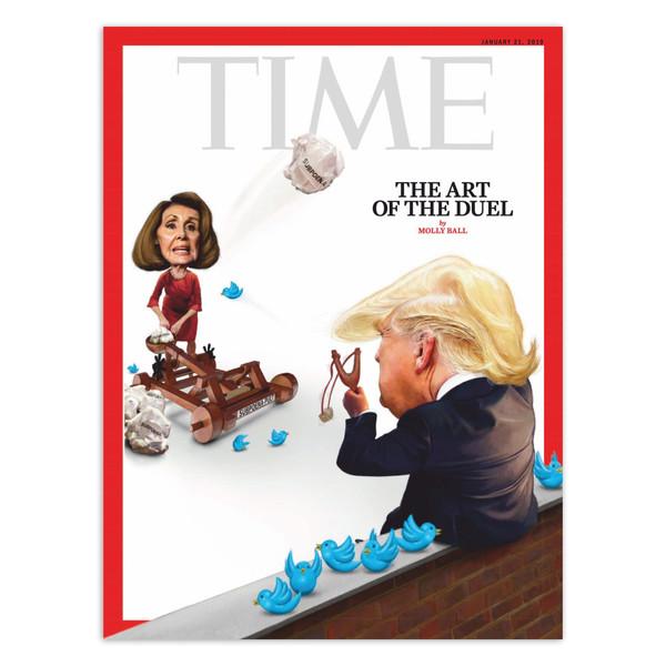 مجله Time - شماره 21 ژانویه 2019