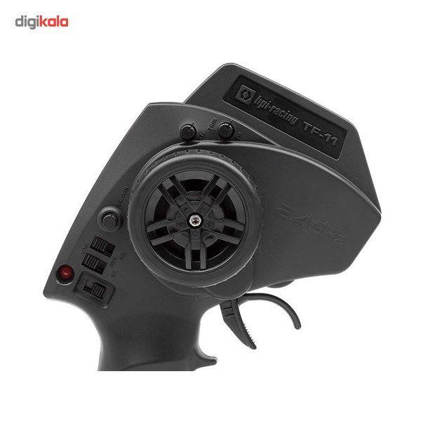 ماشین بازی کنترلی اچ پی آی ریسینگ مدل E10  دریفت فالکن تایر main 1 4