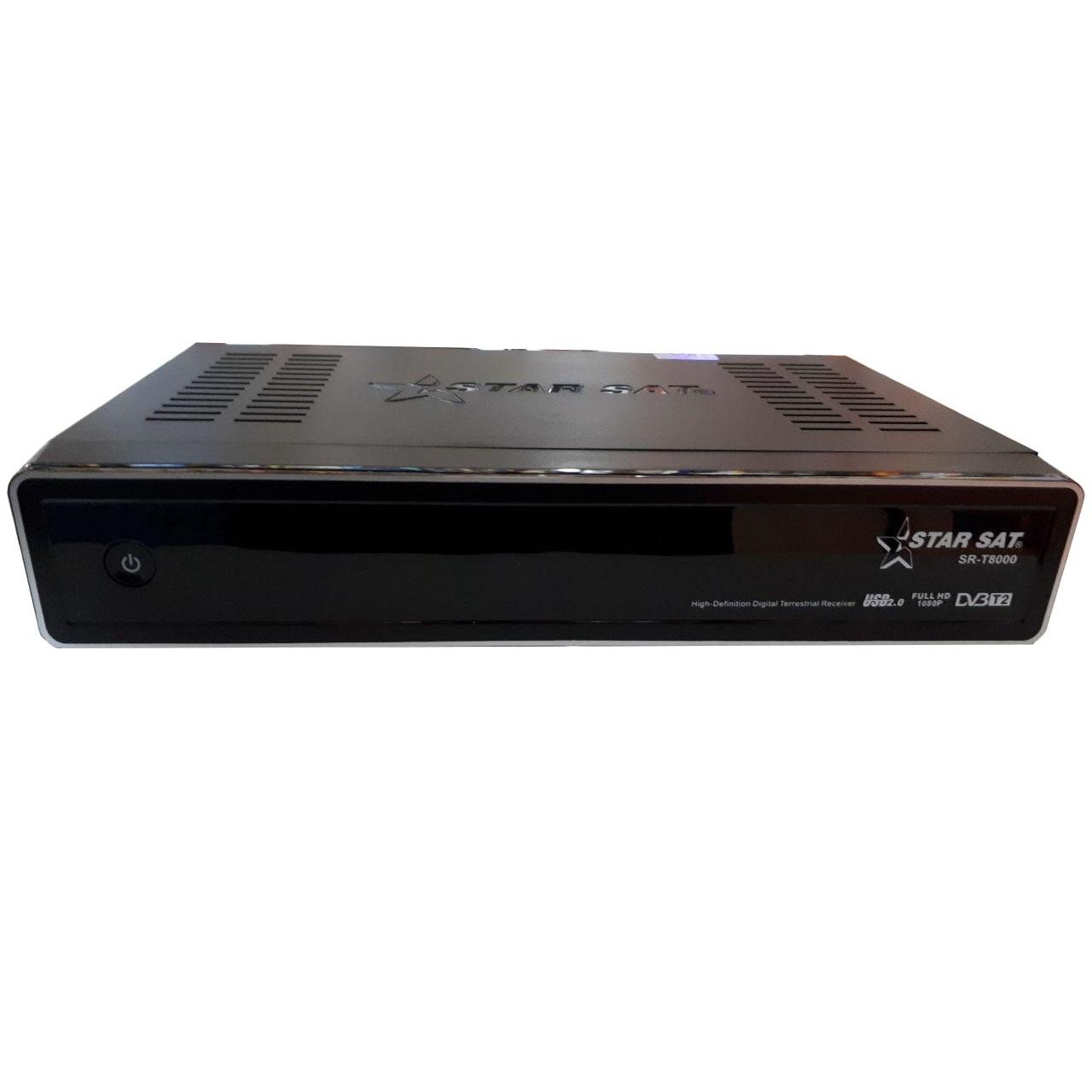 خرید اینترنتی گیرنده دیجیتال استارست مدل SR-T8000 HD T2 اورجینال
