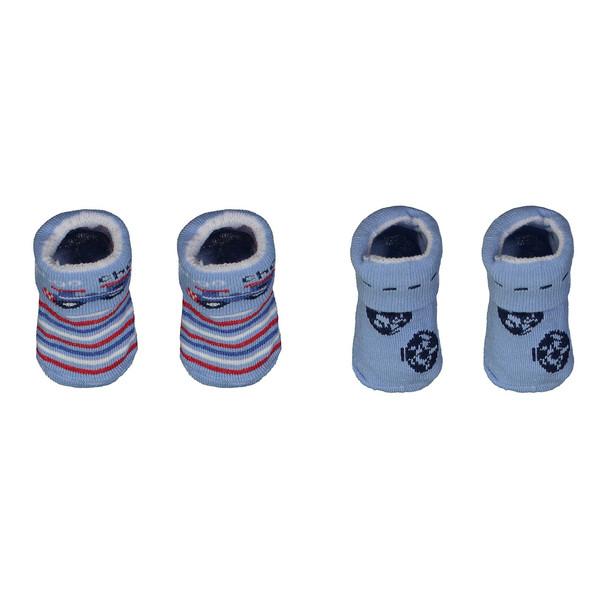 جوراب نوزادی کارترز مدل 543 مجموعه 2 عددی
