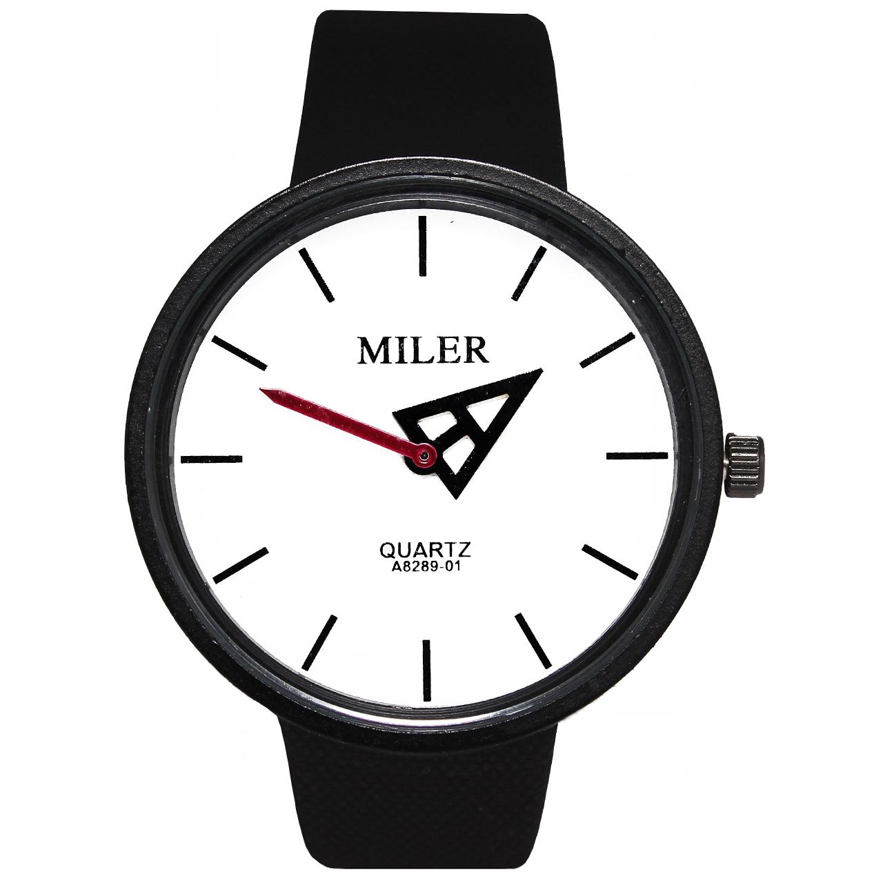 ساعت مچی عقربه ای مردانه و زنانه میلر مدل P4-21 44