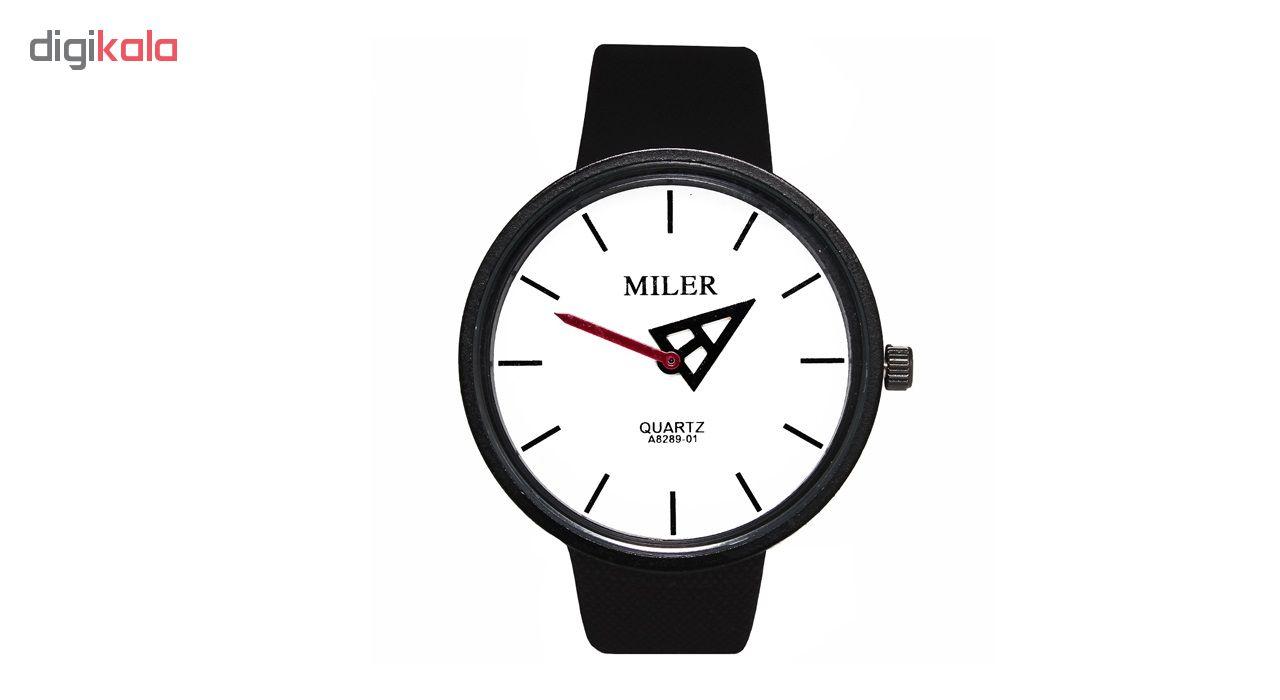ساعت مچی عقربه ای مردانه و زنانه میلر مدل P4-21