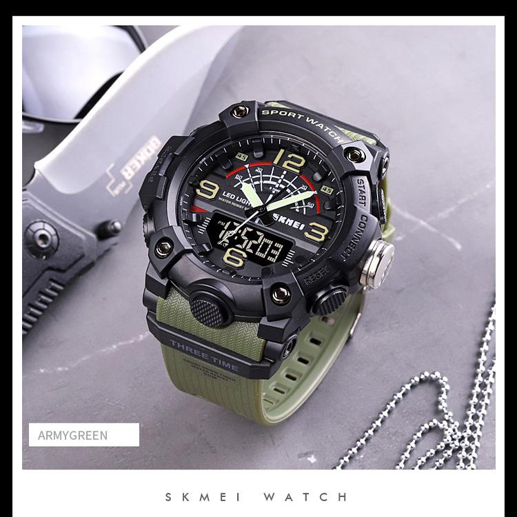 خرید                                     ساعت مچی دیجیتال مردانه اسکمی مدل S1619 GR
