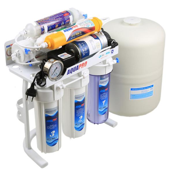تصفیه کننده آب خانگی آکوا پرو مدل pomp up-9 stage