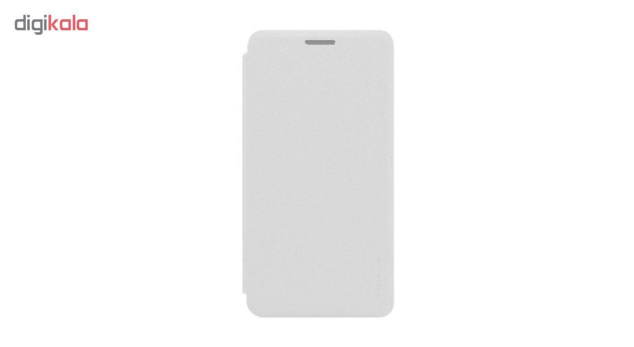 کیف کلاسوری نیلکین مدل New Leather Sparkle مناسب برای گوشی موبایل مایکروسافت Lumia 550 main 1 2