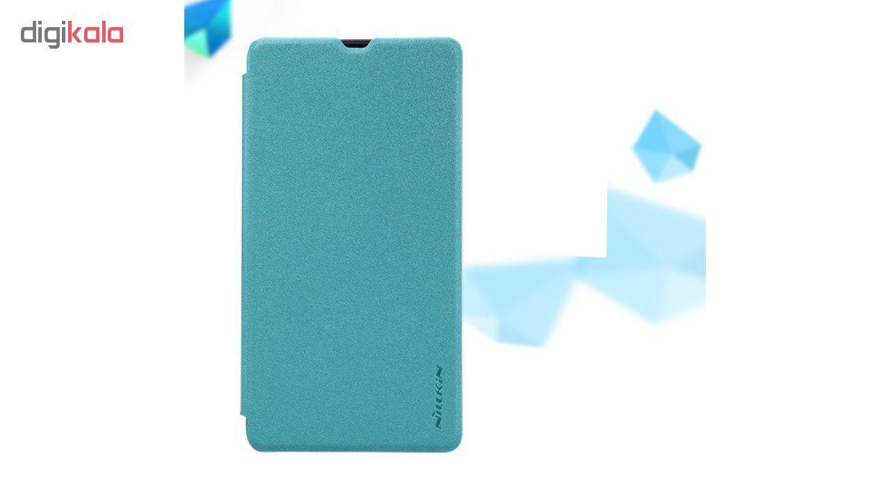 کیف کلاسوری نیلکین مدل New Leather Sparkle مناسب برای گوشی موبایل مایکروسافت Lumia 550 main 1 3