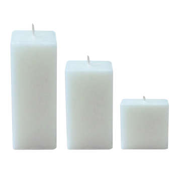 شمع هونیا کد مکعب 111 مجموعه 3 عددی