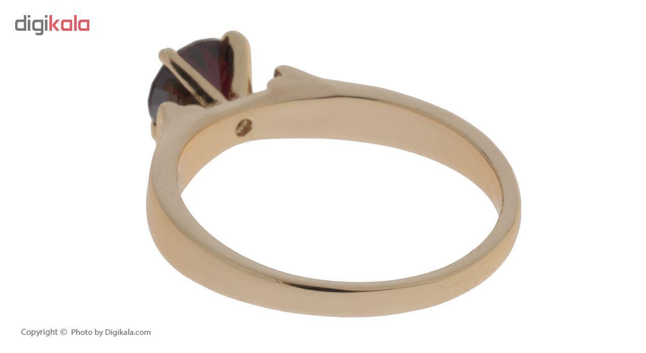 انگشتر ژوپینگ طرح سولیتر مدل Crimson Jewel کد 205031  main 1 5