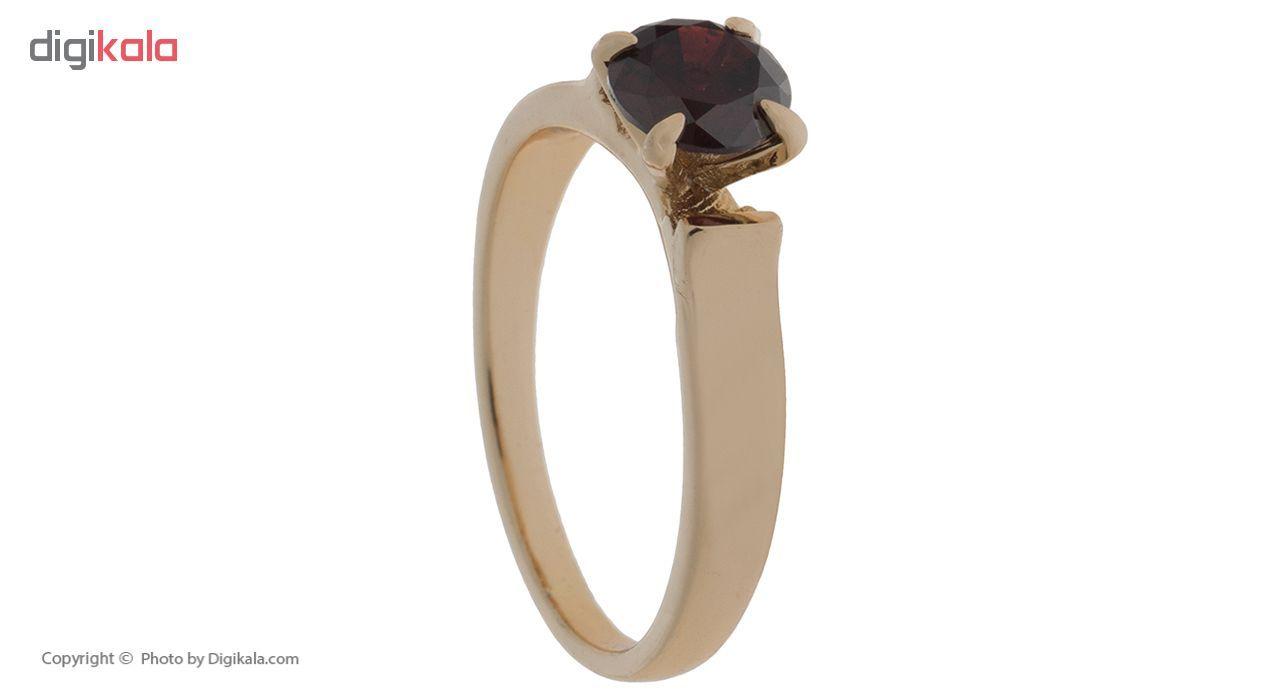 انگشتر ژوپینگ طرح سولیتر مدل Crimson Jewel کد 205031  main 1 6