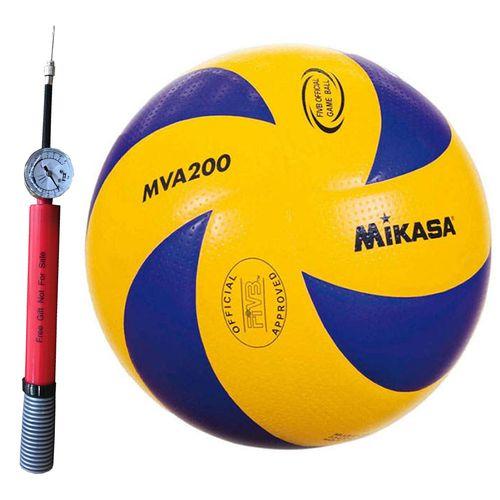 توپ والیبال مدل MVA 200 همراه با تلمبه