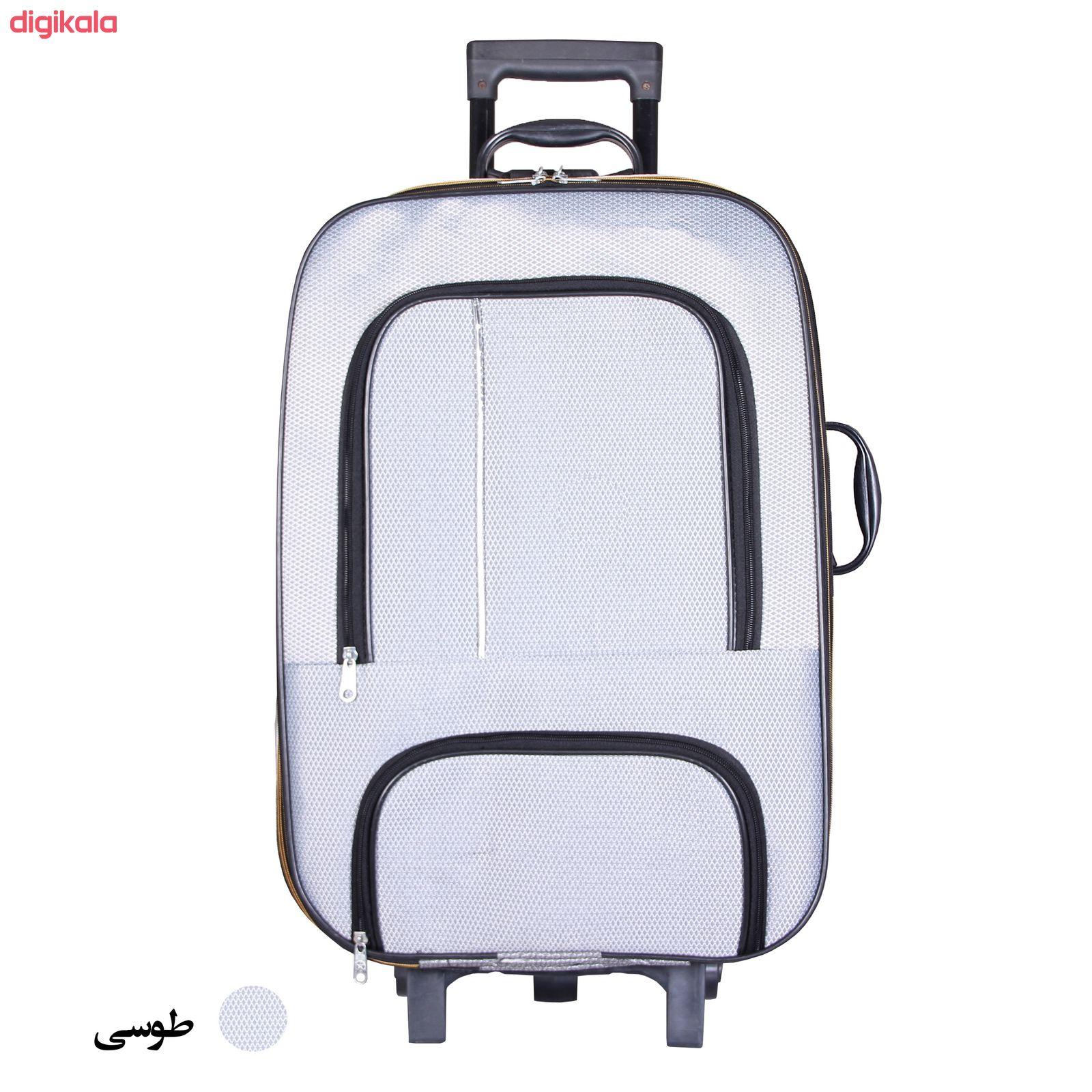 مجموعه دو عددی چمدان پرواز مدل M01000 main 1 3