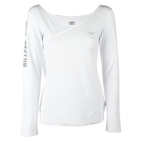 تی شرت ورزشی زنانه بیلسی مدل 51W8526-POL-BEYAZ