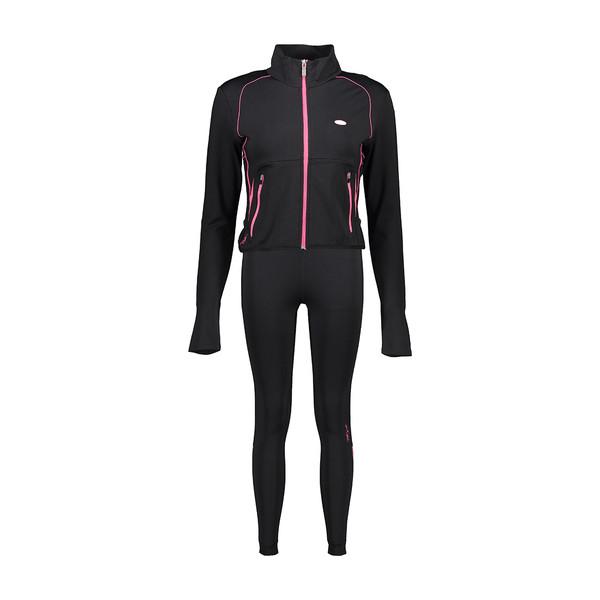 ست سویشرت و لگینگ ورزشی زنانه بیلسی مدل 15Y7052-MEI-SIYAH-SIYAH
