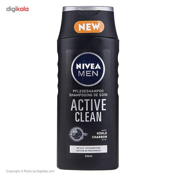 قیمت شامپو نیوآ مدل Active Clean حجم 250 میلی لیتر
