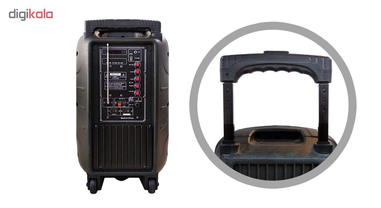 پخش کننده چندرسانه ای خانگی ام کی مدل MK-QX23-10 به همراه میکروفن