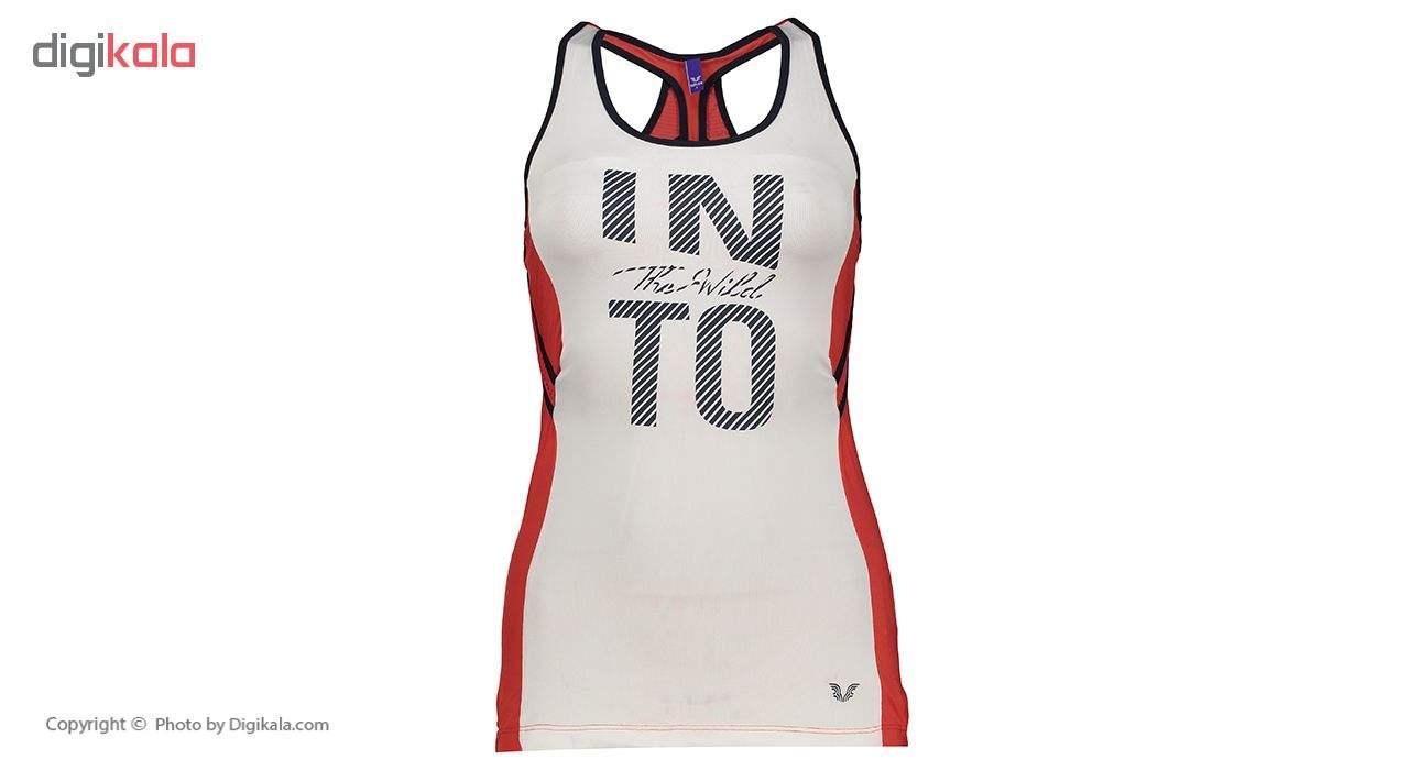 تاپ ورزشی زنانه بیلسی مدل TB18WK16S3510-1-SALSA  Bilcee TB18WK16S3510-1-SALSA Sport Top For Women