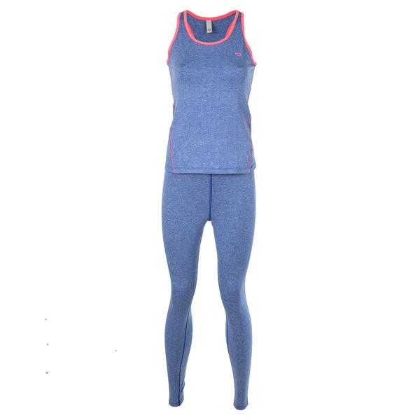 ست تاپ و لگینگ ورزشی زنانه بیلسی مدل 16SS0259-KAT-MAVI-MAVI