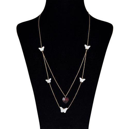 گردنبند طلا 18 عیار مایا ماهک کد MM0884