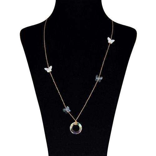 گردنبند طلا 18 عیار مایا ماهک کد MM0878