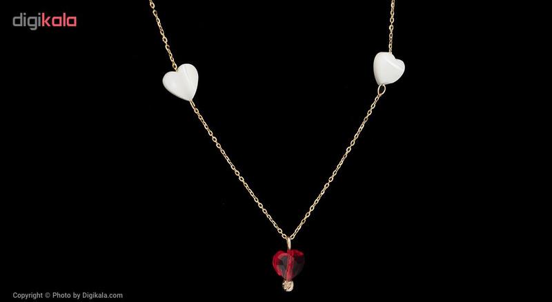 گردنبند طلا 18 عیار مایا ماهک کد MM0879