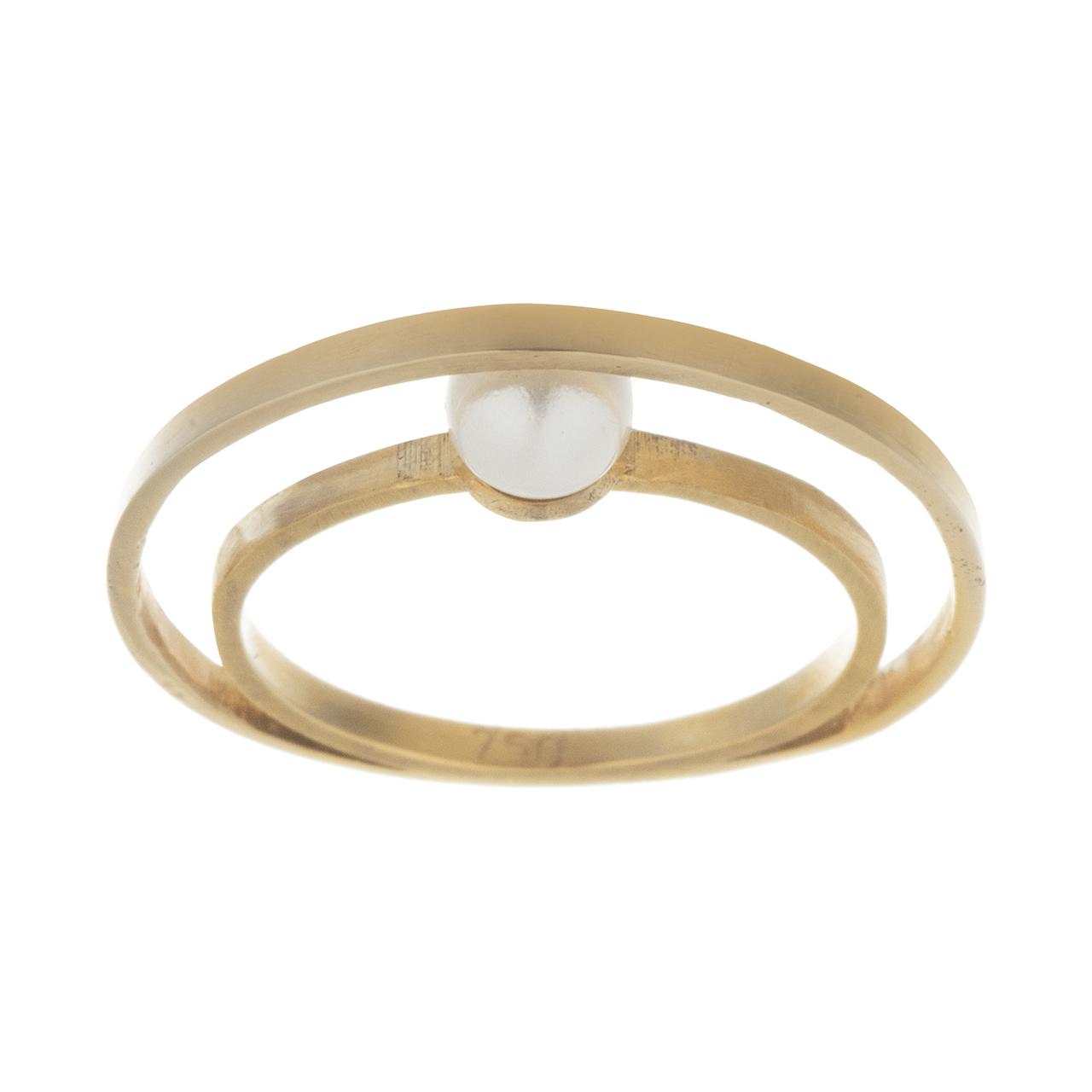 قیمت انگشتر طلا 18 عیار مایا ماهک کد MR0286