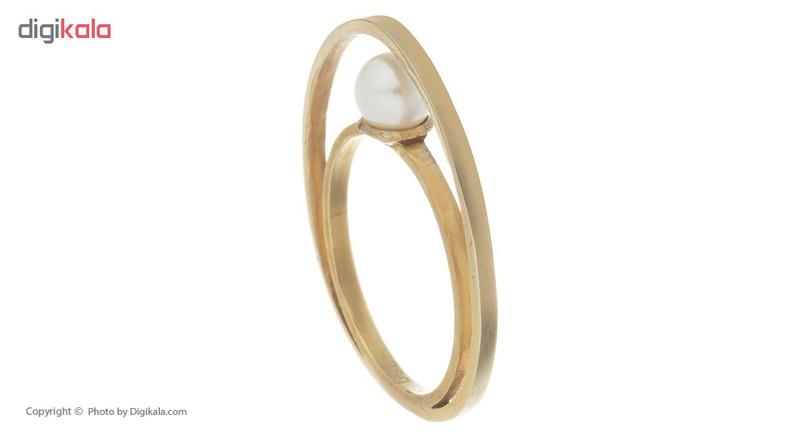 انگشتر طلا 18 عیار مایا ماهک کد MR0286