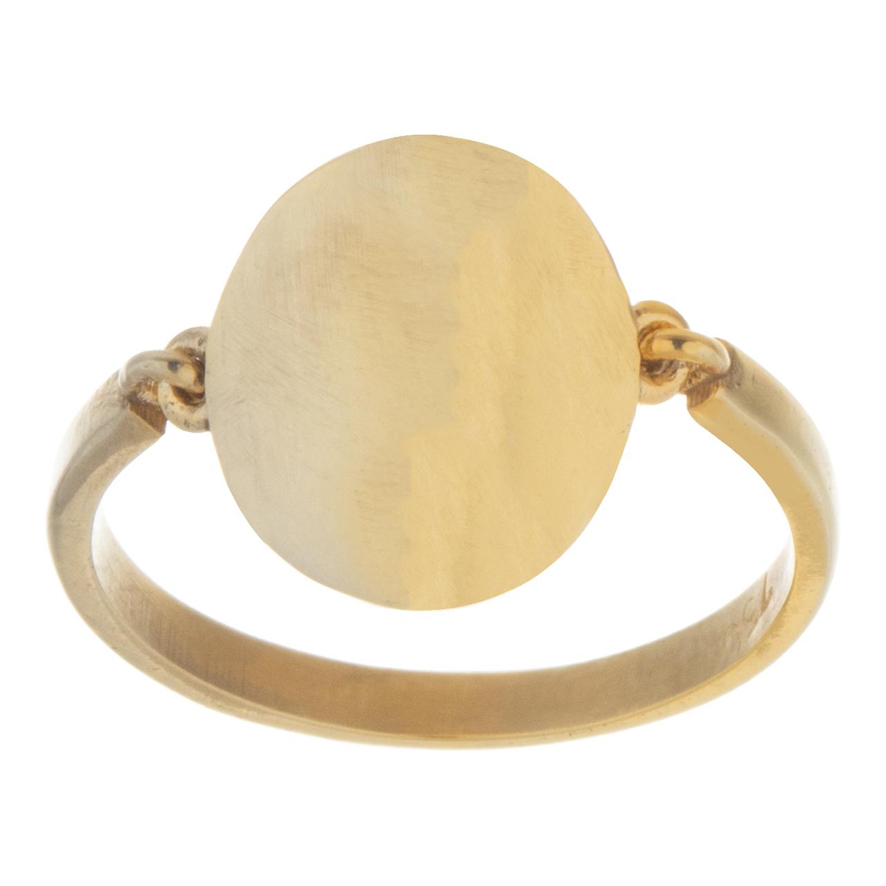 قیمت انگشتر طلا 18 عیار مایا ماهک کد MR0288