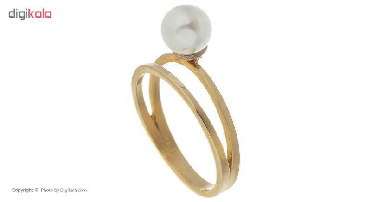 انگشتر طلا 18 عیار مایا ماهک کد MR0285