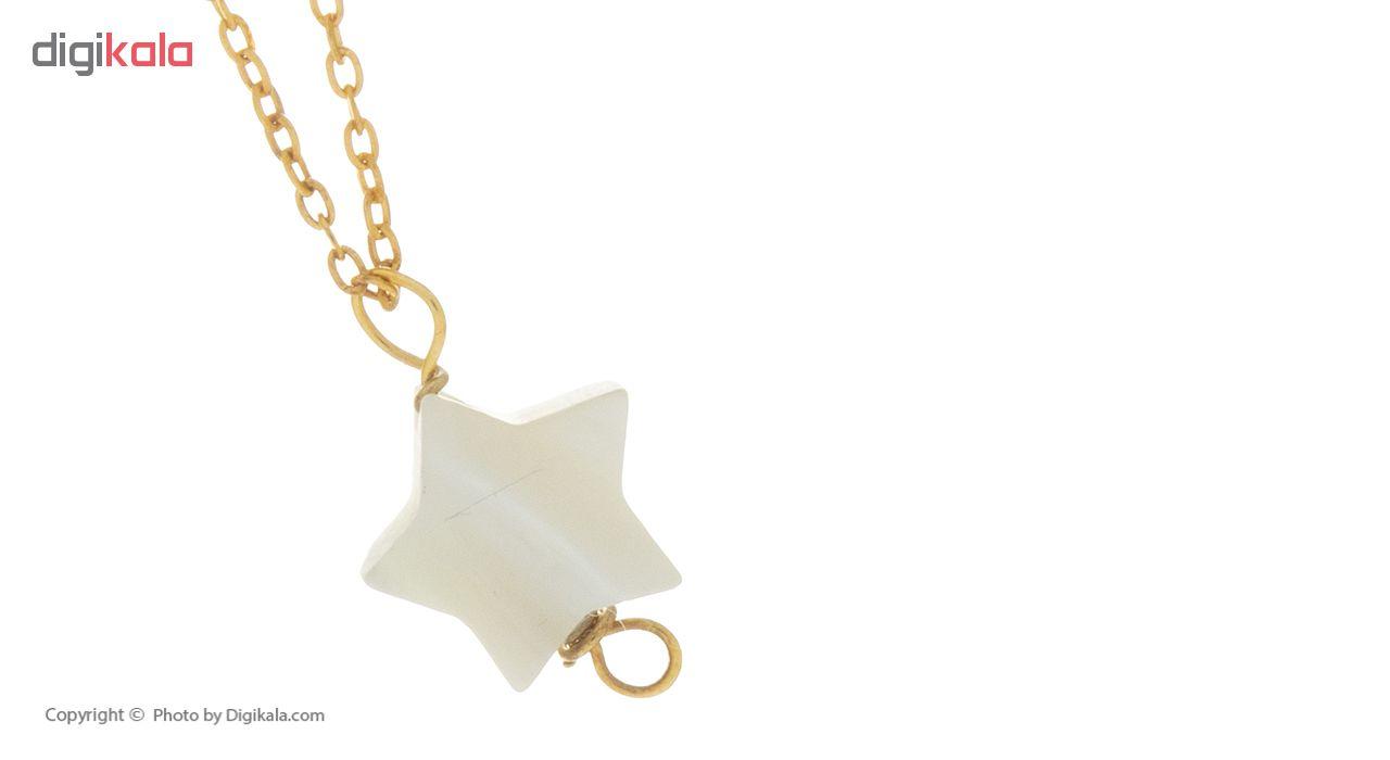 آویز ساعت طلا 18 عیار ماهک مدل MW0346 - مایا ماهک