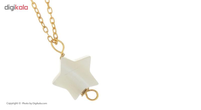 آویز ساعت طلا 18 عیار ماهک مدل MW0346