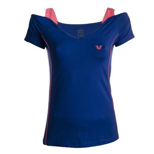 تی شرت ورزشی زنانه بیلسی مدل 15Y7212-PL-DARK BLUE