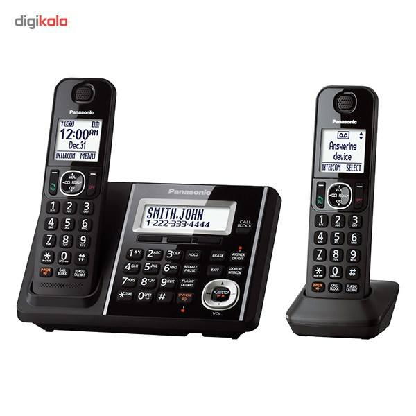تلفن بیسیم پاناسونیک مدل KX-TGF342 main 1 1
