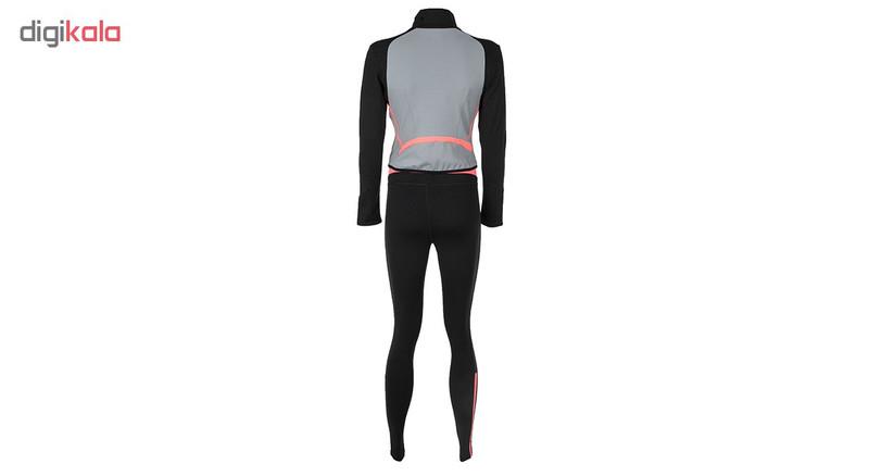ست سویشرت و لگینگ ورزشی زنانه بیلسی مدل 15Y7052-MEI-SIYAH-A.GRI
