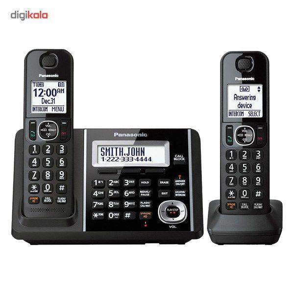 تلفن بیسیم پاناسونیک مدل KX-TGF342 main 1 2