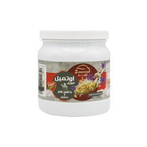 غلات صبحانه اوتمیل طعم شیر شتر زعفرانی زرپر - 500 گرم