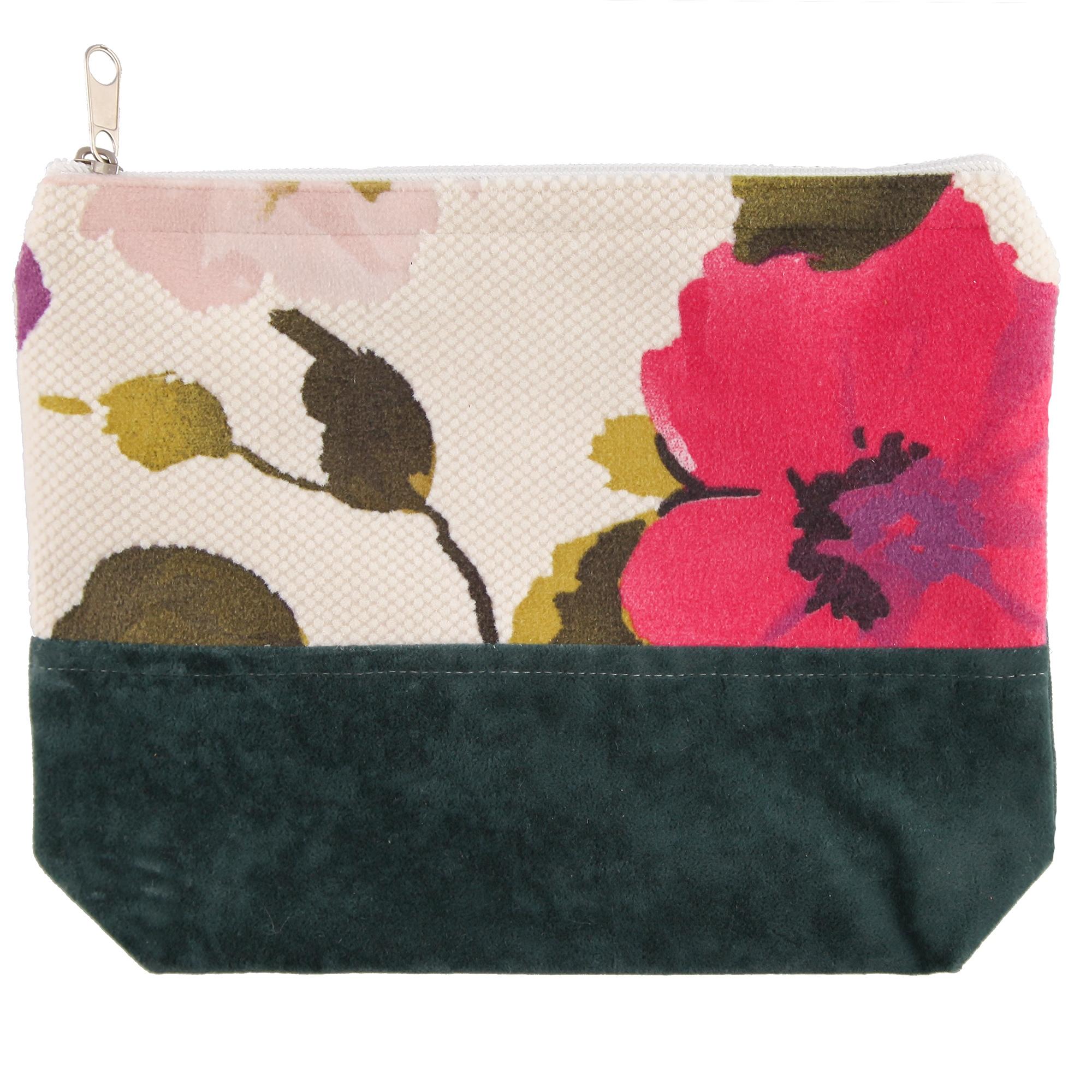 کیف لوازم آرایشی طرح گلدار کد 309020 |