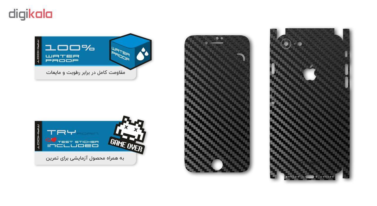 برچسب پوششی ماهوت مدل Full skin-Carbon-Fiber مناسب برای گوشی موبایل اپل iPhone 7 main 1 3