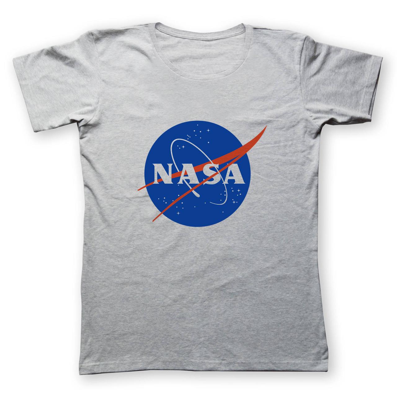 عکس تی شرت مردانه به رسم طرح ناسا کد 285