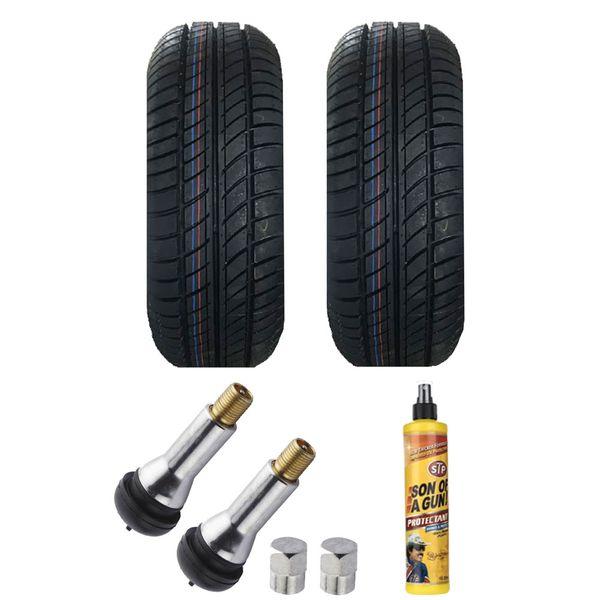 لاستیک خودرو یزد تایر مدل MARS سایز 205/50/16 دو حلقه مناسب برای انواع رینگ 16