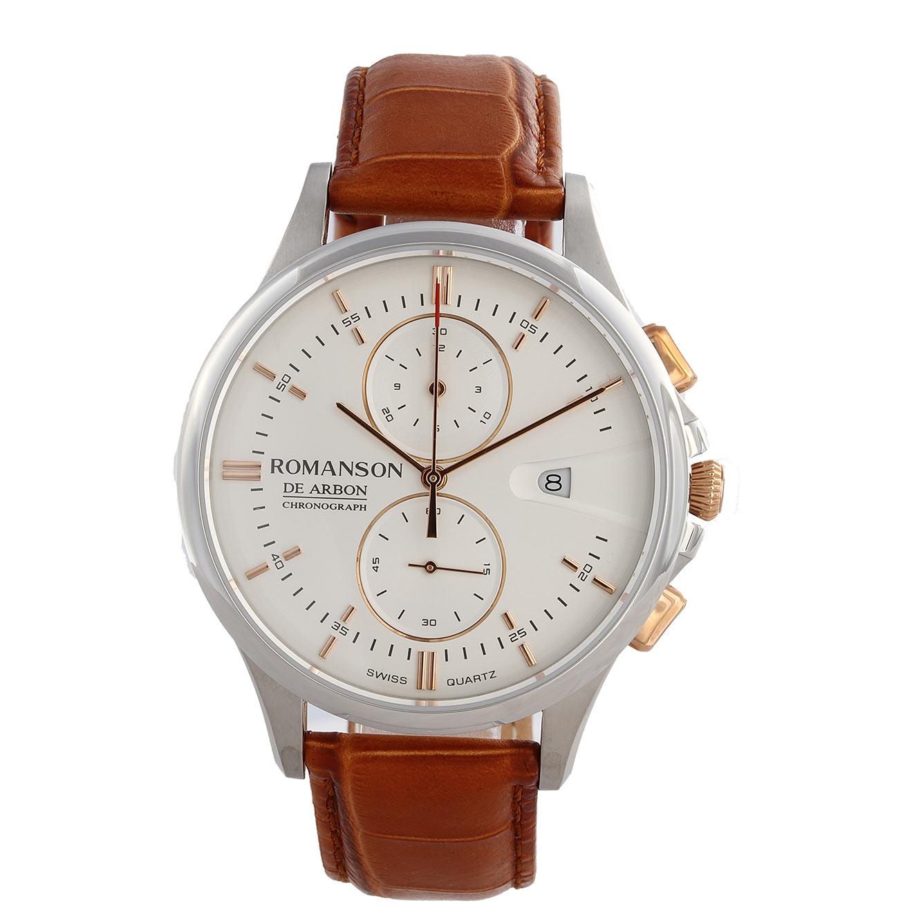 کد تخفیف                                      ساعت مچی عقربه ای مردانه رومانسون مدل CB5A09HMNJA1R5