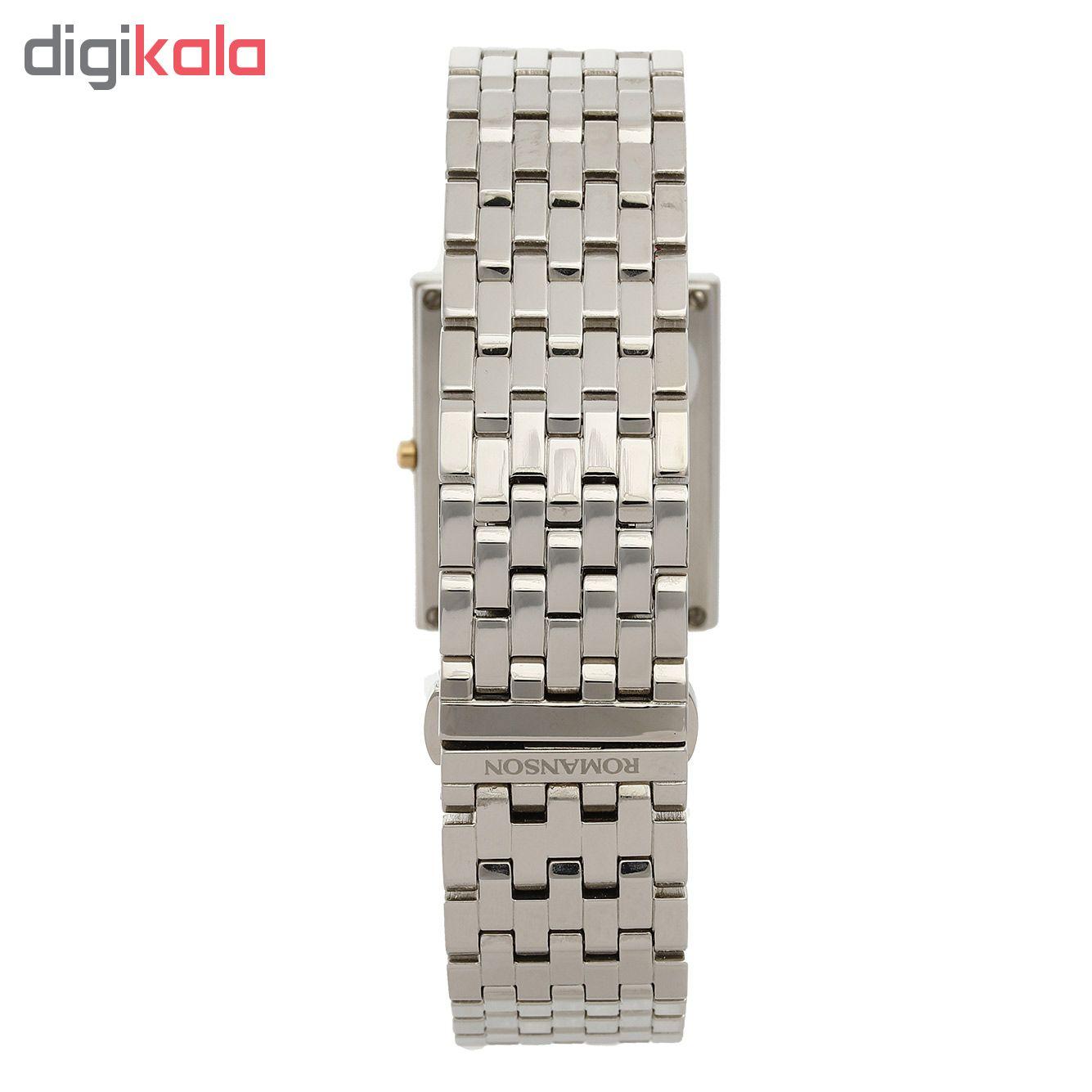 کد تخفیف                                      ساعت مچی عقربه ای مردانه رومانسون مدل EM0208DM1CM11G