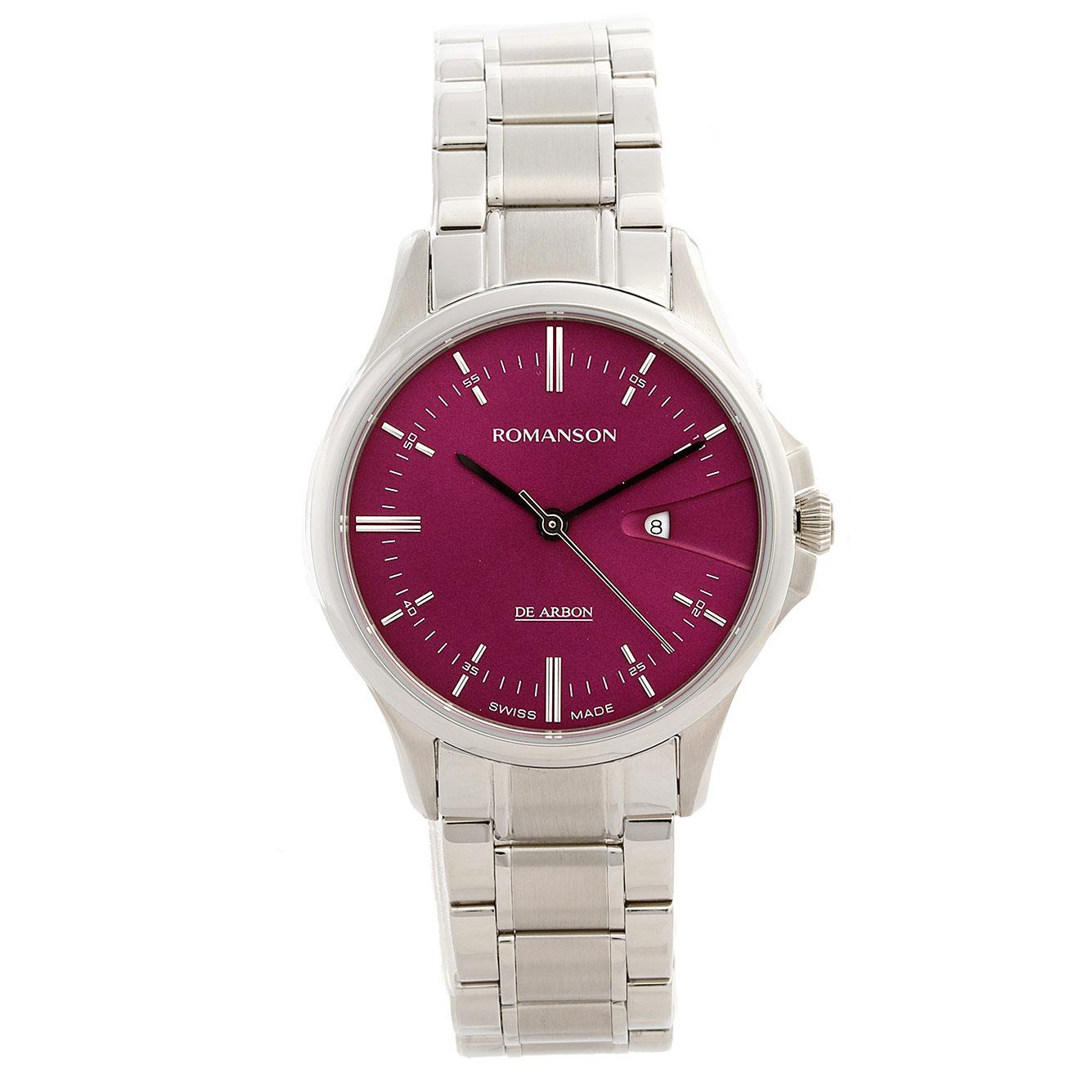 ساعت مچی عقربه ای زنانه رومانسون مدل CM5A10LL1WAPR2