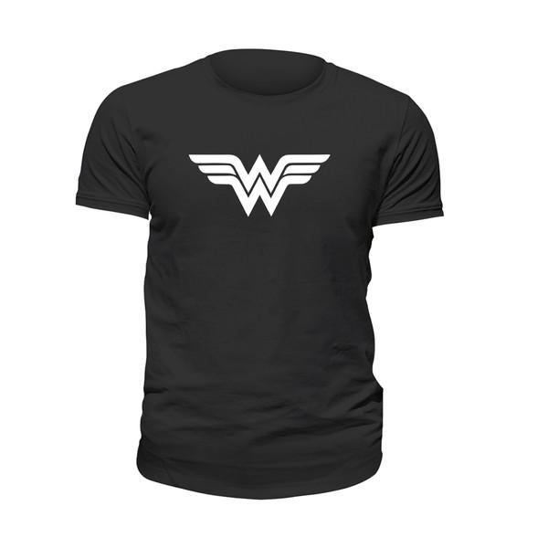 تی شرت آستین کوتاه زنانه مدل واندر وومن کد 004