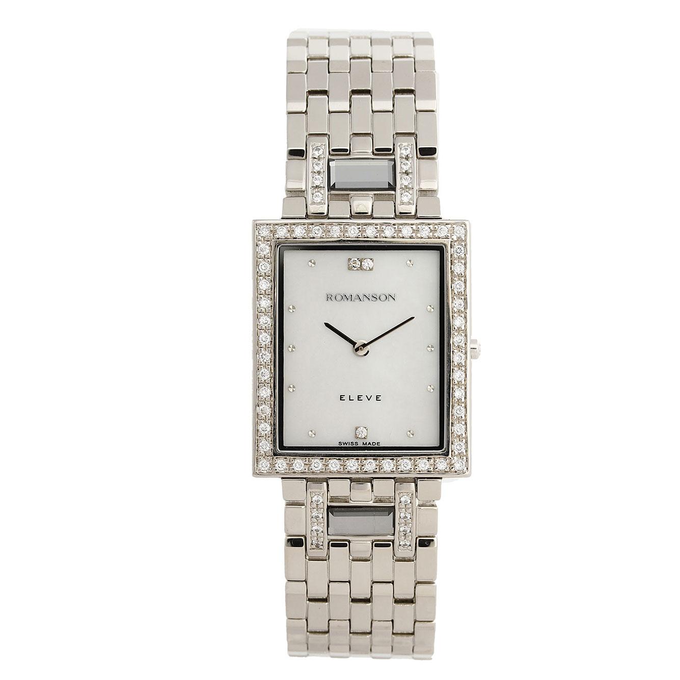 ساعت مچی عقربه ای مردانه رومانسون مدل EM0208QM1WM12W
