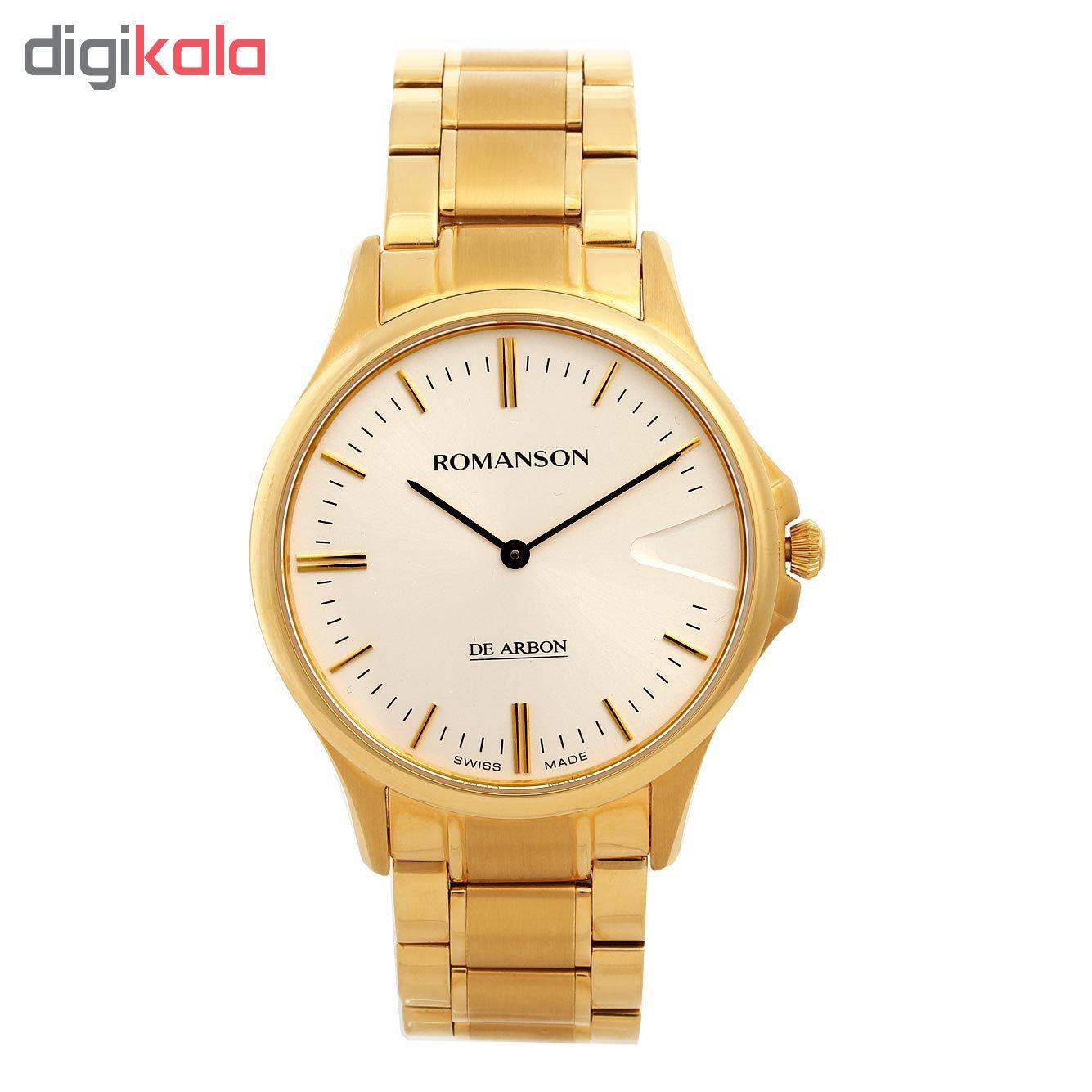 کد تخفیف                                      ساعت مچی عقربه ای مردانه رومانسون مدل CM5A11MM1GA1R1